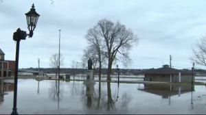 Dangerous flooding in parts of Atlantic Canada and Quebec